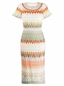 Missoni fine knit dress - Pink