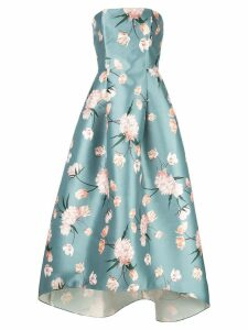 Sachin & Babi floral strapless dress - Green