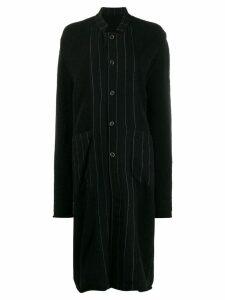 Uma Wang collared long-length cardigan - Black