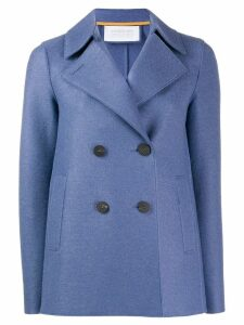 Harris Wharf London double-breasted coat - Blue
