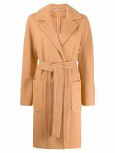 Liu Jo belted single-breasted coat - Neutrals