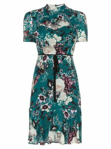 Erdem Anne floral mini-dress - Green