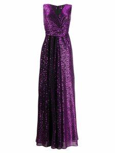 Talbot Runhof Pokario dress - Purple
