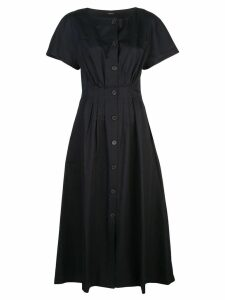 Adam Lippes button-through midi dress - Black