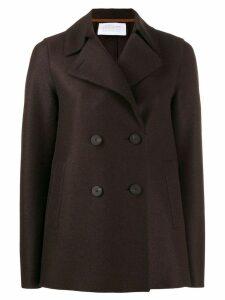 Harris Wharf London double-breasted coat - Brown
