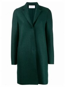 Harris Wharf London single-breasted coat - Green