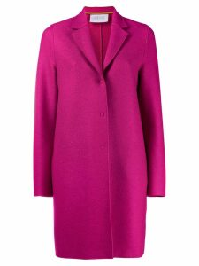 Harris Wharf London single-breasted coat - Pink