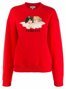 Fiorucci Vintage Angels sweater - Red