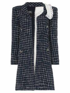 Tiger In The Rain Repurposed Chanel tweed coat - Blue