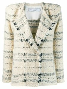 IRO Nineal crop knitted jacket - Neutrals