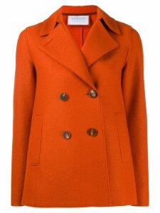 Harris Wharf London double-breasted coat - Orange