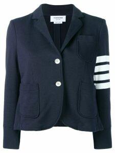 Thom Browne 4-Bar Navy Loop Back Sport Coat - Blue