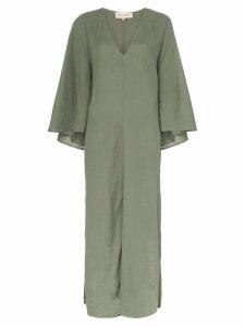 Mara Hoffman Tora V-neck maxi dress - Green