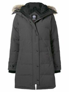 Canada Goose zip-up hooded parka - Grey