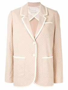 Karen Walker Oxford blazer - NEUTRALS