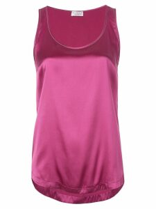 Brunello Cucinelli silk tank top - Pink