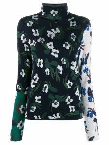 Christian Wijnants Klara jacquard sweater - Blue