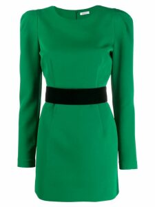 P.A.R.O.S.H. puff sleeve dress - Green