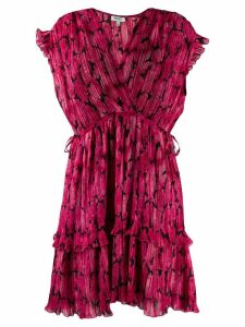 Kenzo Peonie mini dress - Pink