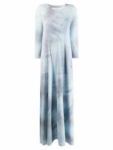 Raquel Allegra maxi tie dye dress - Blue