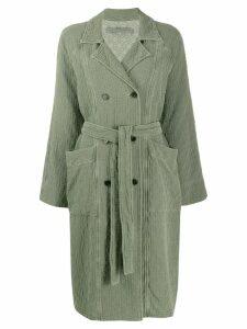 Raquel Allegra Vintage Jade coat - Green