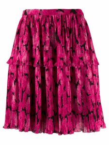 Kenzo Peonie pleated skirt - Pink