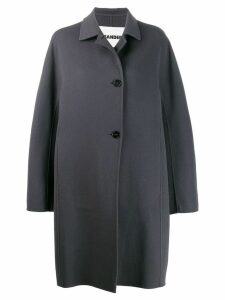 Jil Sander single-breasted coat - Grey