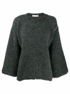 Fabiana Filippi knitted jumper - Grey