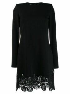Philosophy Di Lorenzo Serafini lace trim dress - Black
