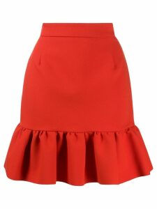 MSGM pleated skirt - Red