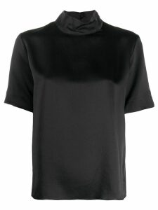Forte Forte roll neck T-shirt - Black