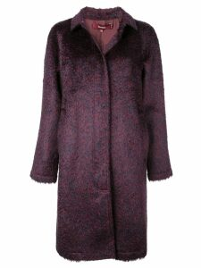 Sies Marjan patterned short coat - Purple