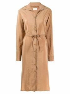 Lemaire zipped dress - NEUTRALS