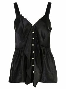 3.1 Phillip Lim Pearl Embellished Cami - Black