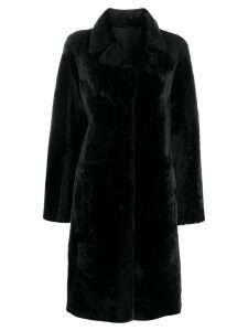 Drome classic collar coat - Black