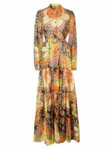 Gucci floral print maxi dress - Multicolour