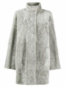Drome lamb fur coat - Grey