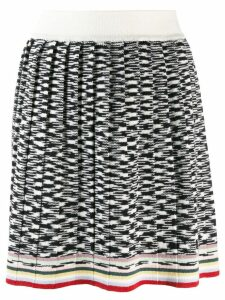 Missoni two-tone design skirt - White