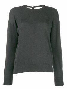 Brunello Cucinelli Sollato Dietro jumpers - Grey