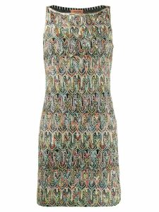 Missoni intarsia shift dress - Black