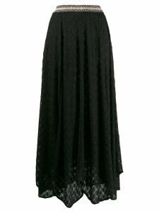Missoni fine knit skirt - Black