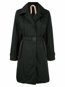 Nº21 belted trench coat - Black