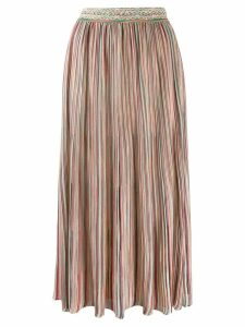 Missoni striped midi skirt - Pink