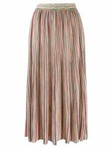 Missoni striped midi skirt - Pink