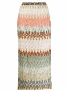 Missoni fine knit skirt - Green