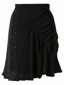Nº21 embellished gathered skirt - Black