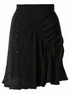 Nº21 embellished gathered skirt - Black