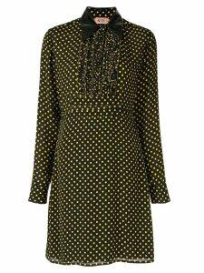 Nº21 polka dot shirt dress - Black