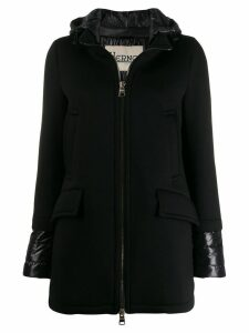 Herno single-breasted coat - Black