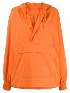 Calvin Klein Jeans Est. 1978 oversized pullover jacket - Snr Orange